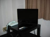 液晶テレビ(セミダブル、ツインルームプラン)