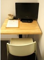 個室標準完備のTV