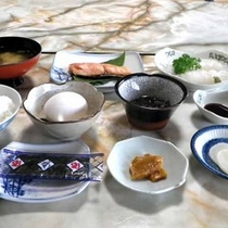 *【朝食】身体に優しい和食の朝ごはん