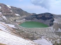 蔵王のお釜、熊野岳、刈田岳、御田の神湿原などガイド付きトレッキング