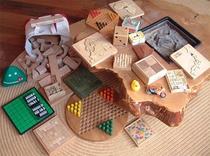 パズル、木のゲーム、おもちゃ