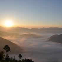 北山村の雲海