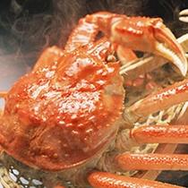 じゅわ~っと美味しそうな蟹