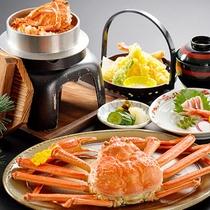 蟹・蟹飯・膳