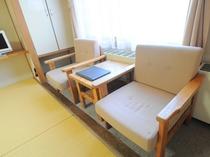【和室】椅子もご用意しております。
