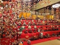 宿より徒歩2分稲取文化公園内・雛の館にて「雛のつるし飾り祭り」が10月1日〜12月12日まで開催され