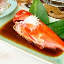 もう一つの定番プラン★でっかい金目鯛のほっくほく煮付け