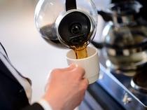 朝のコーヒーは香りから・・・