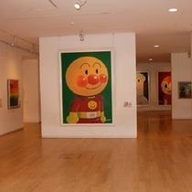 アンパンマンミュージアム4階「やなせたかしギャラリー」
