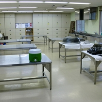 *【施設】ジャムや甲州名物ほうとうは、こちらの調理室で使います。