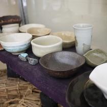 *【施設】本格的な陶芸体験を楽しむことができます。