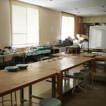 *【施設】草木染めやネイチャークラフト等が楽しめる工作室。