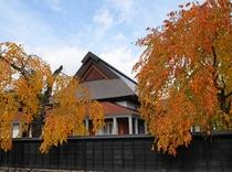【秋】武家屋敷景色