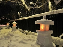 【冬】武家屋敷風景