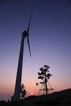 前津吉、風力発電