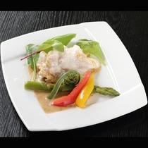 *【ご夕食/一例】旬の食材を心を込めて調理いたします