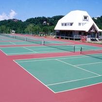 *テニスコート
