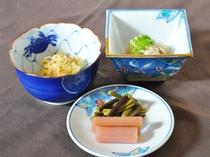 【ご夕食の小鉢一例】