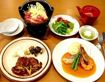 和田山荘食事写真2014-2015-1