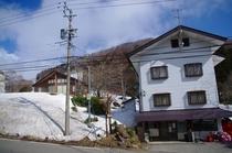 オフシーズンの和田山荘