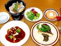 和田山荘食事写真2014-2015-2