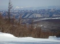 プロムナードコースからの磐梯山!