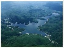 羽鳥湖航空写真