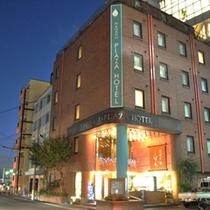 ホテル外観-夜