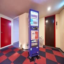 客室フロアー自販機