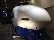 【京都鉄道博物館】100系新幹線はクールなまなざし。