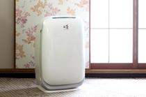 加湿機能付空気清浄機(全室)