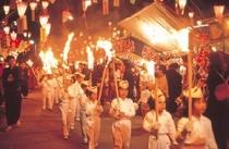 湯田温泉白狐祭り