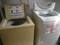 6階に洗濯機は2台ございます