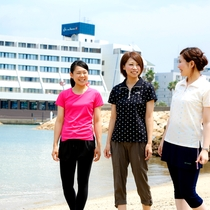 【ホテル周辺】小浜海水浴場