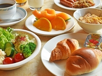 【朝食バイキング】オリジナルコーヒーと共に洋食をお楽しみください♪