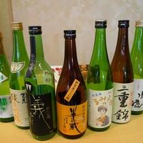 【地酒】飲み比べ!3種類チョイスしてください♪