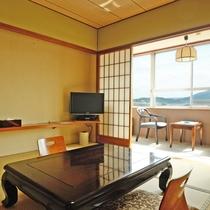 *和室(一例)落ち着いた雰囲気の中でゆっくりとお過ごしいただけます。