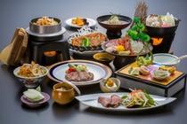 1泊2食付「贅コース」2015冬料理一例
