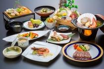 1泊2食付「極コース」2015冬料理一例