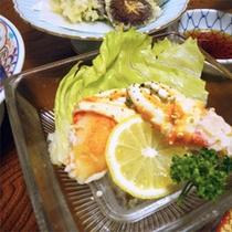 *夕食一例/鮮度を大事にしておりますので献立は日ごとに変わります。