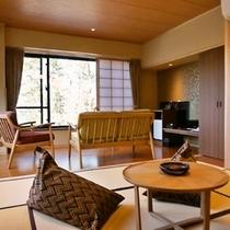 アップグレード客室一例