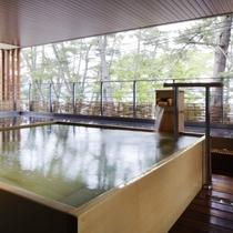 『弁財天』松林に抱かれる水鏡の湯