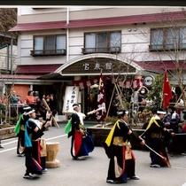 岩手県宮古市の黒森神楽(国指定重要無形文化財)