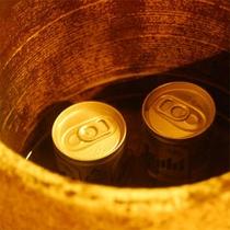 ミニ缶ビールサービス2