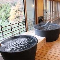 【樽風呂】春夏秋冬と景色を変える高山の町並みを眺めながら癒しのひと時を※温泉ではございません