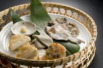 料理イメージ(朝食焼物)