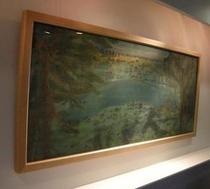 日本画展示中です。