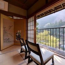 *山吹の間/多摩川を一番近いお部屋。心地よい風を感じながら過ごす安らぎの休日を。