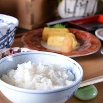 *ご朝食一例/旬を大切にし、新鮮さを求めて。一日の活力となる朝ごはんは質の良い食事から。