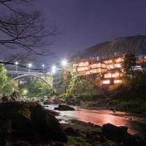 *都心から90分-多摩川沿いに佇む木造築80年以上の歴史を持つ純和風旅館。